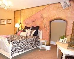 Teen Paris Bedroom Example Of A Classic Bedroom Design In Salt Lake City Bedroom  Curtains Walmart