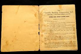 photo essay the chequered history of kolkata s banks slideshow  a passbook from 1951 of comilla banking corp which had just been merged