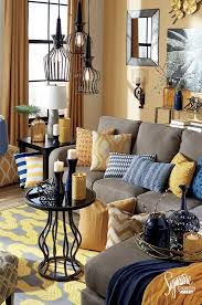 modern living room color ideas family room color navy yellow orange navy blue color scheme