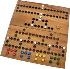 Game With Stones And Wooden Board Barricade Wooden Strategy Board Game Walmart 52
