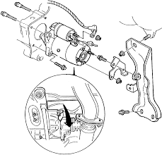 Repair guides starting system starter description fig 1996 mazda millenia serpentine belt routing and timing diagrams