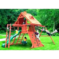 wooden swing set kits menards home depot sets valuable awesome wood accessories
