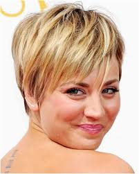 47 Unique Short Hairstyles For Round Faces And Thin Hair Idea