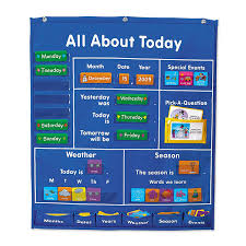 Date Chart For Classroom All About Today Activity Center Chart Classroom Management Pocket Chart For Kids Learning Buy Classroom Management Pocket Chart Pocket Chart For