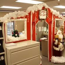 christmas office decorating ideas. 39 Extreme Christmas Door Decoration Ideas, Cube Contest Offic Holiday - Getoutma.org Office Decorating Ideas