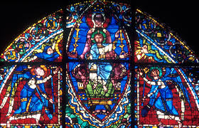 Authentic Art Nouveau Stained Glass Designs In Full Color Stained Glass Windows Medieval Art And Religion