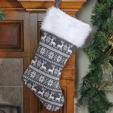 gray christmas stockings. Interesting Stockings Shop 155 Intended Gray Christmas Stockings C