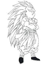 Vegeta Super Saiyan Coloring Pages Dragon Ball Z Super Coloring
