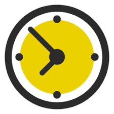 Vector Transparente PNG Y SVG De Icono De Trazo De Color De Reloj De Oficina
