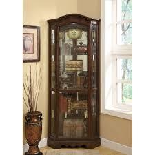 Jasper Curio Cabinet Corner Curio Display Cabinets Youll Love Wayfair