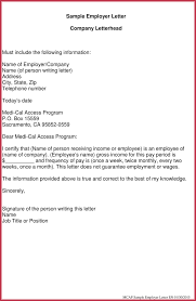 Proof Of Income Letter Sarahepps Com