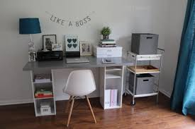 stunning chic ikea office.  Chic DIY Desk Under 60  Amazing IKEA Hacks For Chic And Functional Pieces Stunning Ikea Office