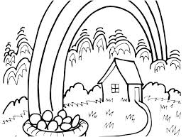 Pot Of Gold Color Sheets Rainbow Pot Of Gold Coloring Pages Kbtstockholm Org