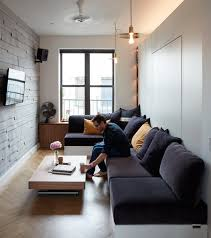 apt furniture small space living. Dwell - At His 350-Square-Foot Apartment, Small Space Champion Graham Hill Apt Furniture Living