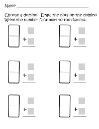 Vertical Domino Addition - adapt to make two fractions and add ...