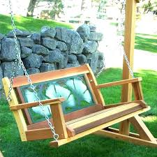 outdoor swing replacement seat porch swing chair cushions deck swing hanging swing bench wood porch swings