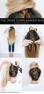 Chignon Mittellanges Haar