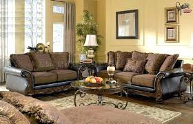 couch loveseat set leather sofa and set cool excellent walnut fabric and faux leather sofa set