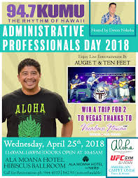 Administative Day Administrative Professionals Day 2018 94 7 Kumu The Rhythm Of