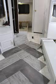 vinyl floating wood floor over tile