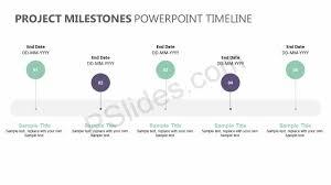Timeline Milestones Project Milestones Powerpoint Timeline Pslides