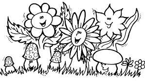 Disegni Di Fiori Da Colorare Per Bambini Foto Nanopress Donna