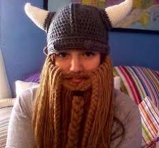 Beard Hat Crochet Pattern Fascinating Bobble Beard Crochet Hat Pattern Easy Video Instructions