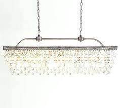 crystal drop chandelier rectangular round glass drop crystal chandelier