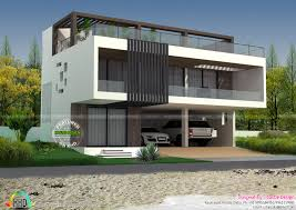 First Floor Terrace Design House With Terrace Swimming Pool Kerala Home Design And