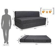6x6 Epe Foam Sofa Cum Bed