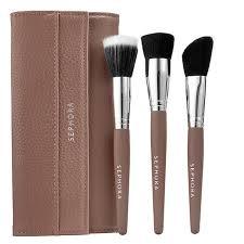 best contour brush. best travel makeup brush sets - sephora collection flatter yourself contour set