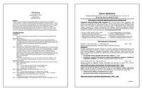 Sample Of Executive Resumes Sales Executive Resume Example
