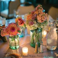 Blue Mason Jars Wedding Decor Wedding Decorations Luxury Wedding Decorations Using Mason Jars 5