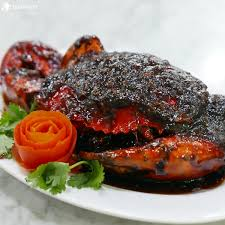 Image result for kepiting lada hitam khas china