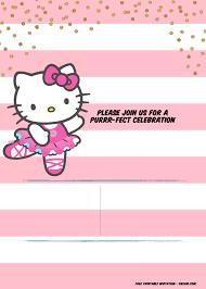 Hello Kitty Invitation Hello Kitty Birthday Party Ideas Invitations Dress