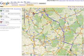 driving directions maps google major tourist attractions and from