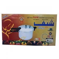 Chef Pressure Cooker - 9 Litter - Premium Kitchenware - Sale price - Buy  online in Pakistan - Farosh.pk
