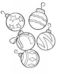 Small Picture Christmas Ornament Coloring Pages coloringsuitecom