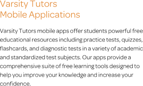 algebra mobile app iphone ipad android varsity tutors mobile apps text