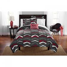large size of mainstays tribal chevron bed in a bag complete bedding set 100 percent polyester