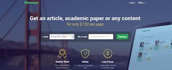 fresh review of edusson com essay writing services review of edusson com writing services