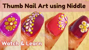 Nail Art Copilation for Thumb- Easy Nail Art Techniques for Thumb ...