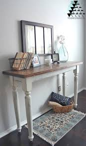 distressed entry table. share? distressed entry table e