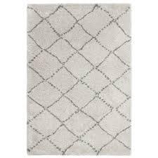 think rugs royal nomadic gy floor rug pure polypropylene cream diamond