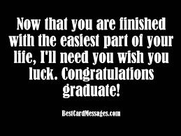 congratulations to graduate graduation card messages