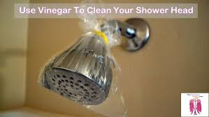 how to clean your shower heads
