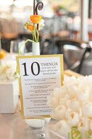 11 Unique ideas for your reception's table numbers