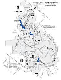 umstead mileage map  running with scissors