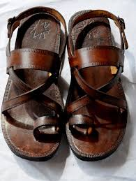 cross over buckle sling leather sandals handmade sandals indian leather sandals las mens custom made whole all sizes on 50 00