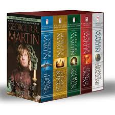 game of thrones season episode what s this show s wig  george r r martin s a game of thrones 5 book boxed set song of ice and fire series